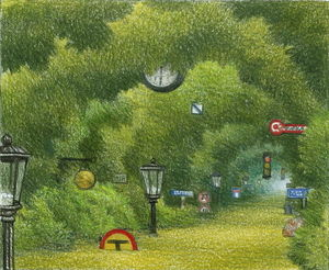 Jacek Yerka - Via Di Pocket Jungle