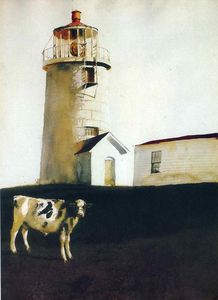 Jamie Wyeth - Isola Steer
