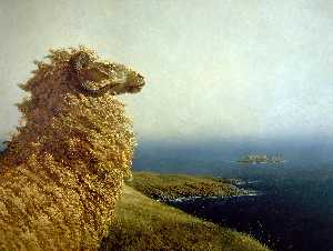 Jamie Wyeth - Antartico Isolano