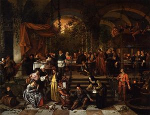 Jan Steen - Nozze di Cana