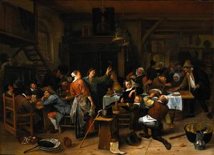 Jan Steen - Prince`s giorno