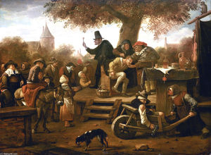 Jan Steen - Ciarlatano