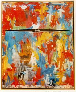 Jasper Johns - Dipingere con due palle