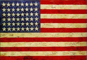 Jasper Johns - bandiera