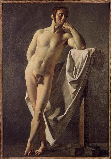 Ordinare Riproduzioni Di Quadri Famosi : nudo maschile, 1801 di Jean ...