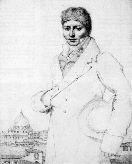 Dr. Jean Louis Robin di Jean Auguste Dominique Ingres (1780-1867, France)