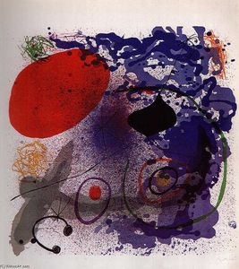 Joan Miro - batement ii