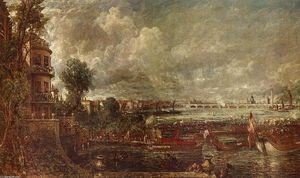 Ordinare Riproduzioni Di Quadri | l apertura di waterloo bridge visto da whitehall scale, 1832 di John Constable (1776-1837, United Kingdom) | WahooArt.com