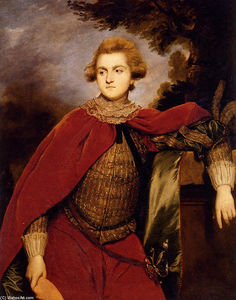 Joshua Reynolds - Ritratto Signore robert spencer