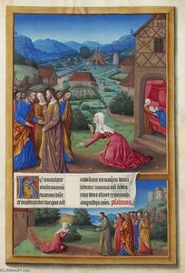 Limbourg Brothers - La donna cananea