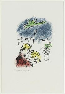Marc Chagall - re david
