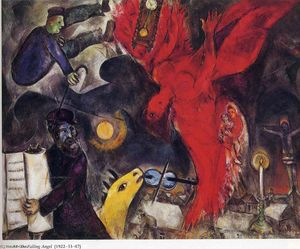 Marc Chagall - The Falling Angelo