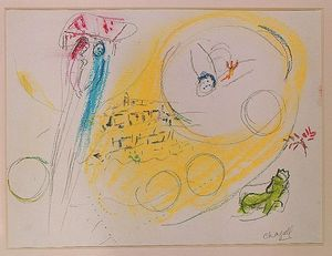 Marc Chagall - canzone di `songs` III