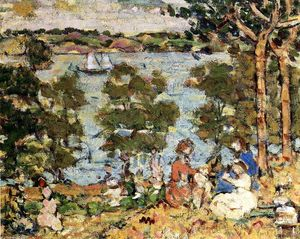Maurice Brazil Prendergast - The Inlet