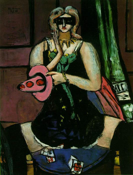 Colombina, 1950 di Max Beckmann (1884-1950, Germany)