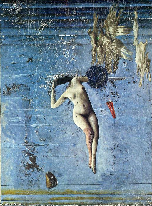 Pleiadi, collage di Max Ernst (1891-1976, Germany)