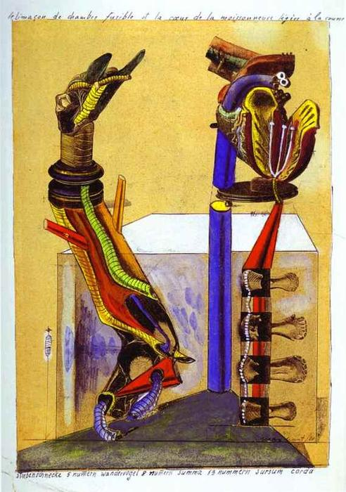 La camera lumaca, collage di Max Ernst (1891-1976, Germany)