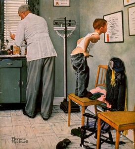 Norman Rockwell - Medico
