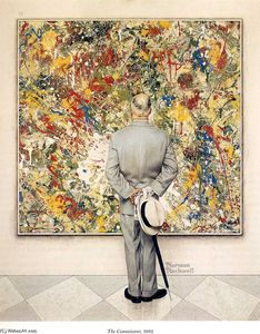 Norman Rockwell - The Connoisseur