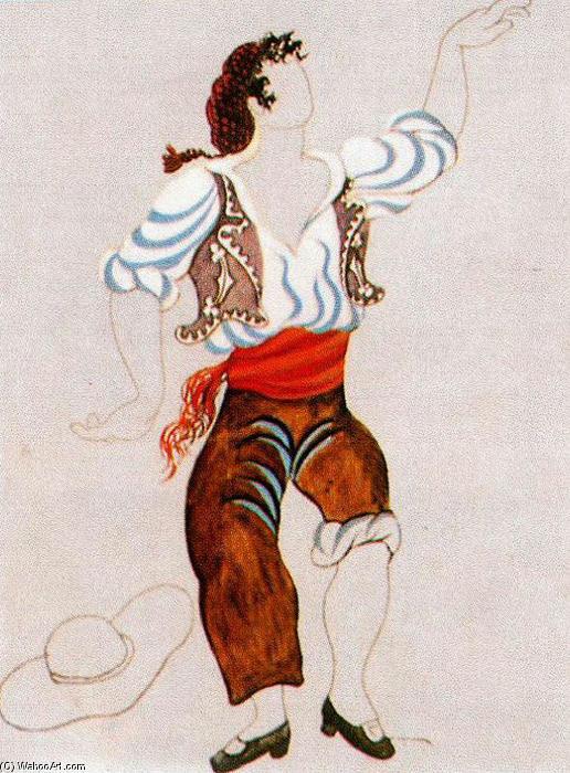 Costume progettazione per ballerino tricorne 1917 for Riproduzioni design