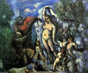 Paul Cezanne - il tentazione of S . Anthony