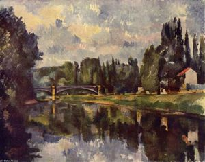 Paul Cezanne - Ponte over marna