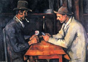 Paul Cezanne - I giocatori di carte