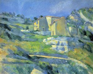 Paul Cezanne - Case a L Estaque