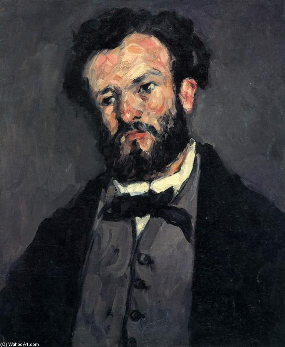 Ritratto di Anthony Valabrègue, 1870 di Paul Cezanne (1839-1906, France) | Copia Pittura | WahooArt.com