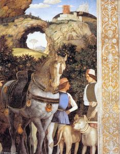 Andrea Mantegna - Suite of Cardinal Francesco ( particolare )