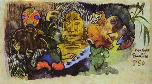 Paul Gauguin - Musica Barbarian