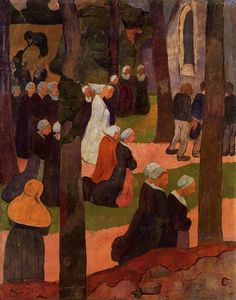 Paul Serusier - Una Domenica Breton