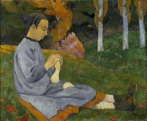 Paul Serusier - Girl from Savoy