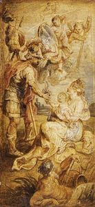 Peter Paul Rubens - la nascita of Henri IV of France