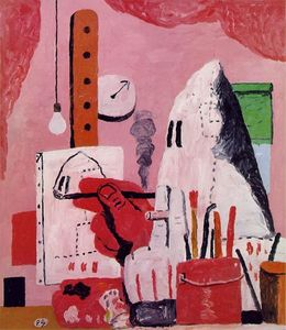 Philip Guston - il studio