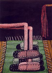 Philip Guston - Verde Tappeto