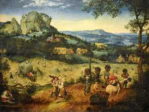 Pieter Bruegel The Elder - Fienagione