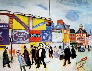 Raoul Dufy - Poster Trouville