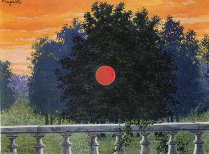 Rene Magritte - banchetto