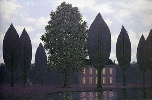Rene Magritte - il misterioso barricate