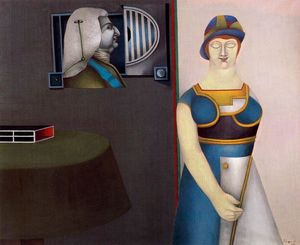 Richard Lindner - coniugi