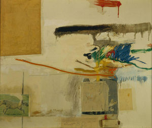 Robert Rauschenberg - Untitled (collage precedentemente intitolato con il cavallo)