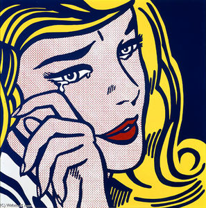 Roy Lichtenstein - Pianto piccola