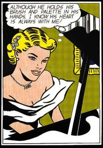 Roy Lichtenstein - Ragazza al Piano