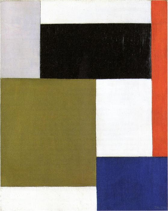 Composizione, 1923 di Theo Van Doesburg (1883-1931, Netherlands) | WahooArt.com