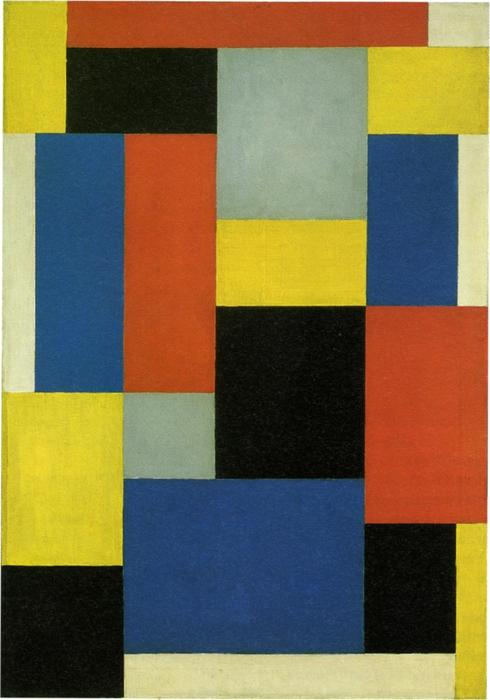 Composizione XX, 1920 di Theo Van Doesburg (1883-1931, Netherlands) | WahooArt.com