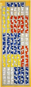 Theo Van Doesburg - design per vetrate composizione xiii