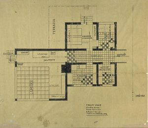 Theo Van Doesburg - Progetto of house-studio