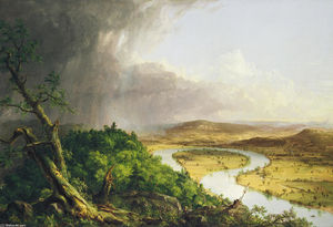 Thomas Cole - Vista dal Mount Holyoke