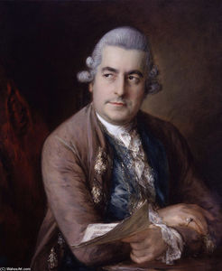 Thomas Gainsborough - Ritratto di Johann Christian Bach